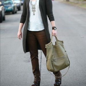 Foley + Corinna Sage Olive Green Mid City Tote